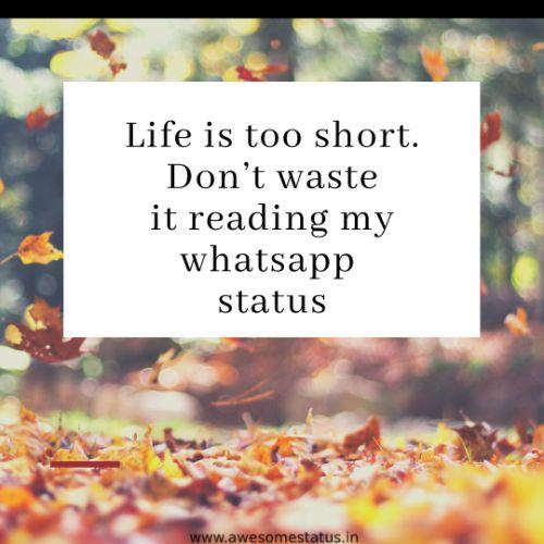 Cool Status for Whatsapp