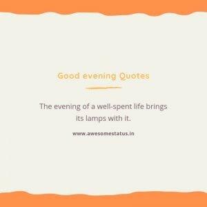 evening messages