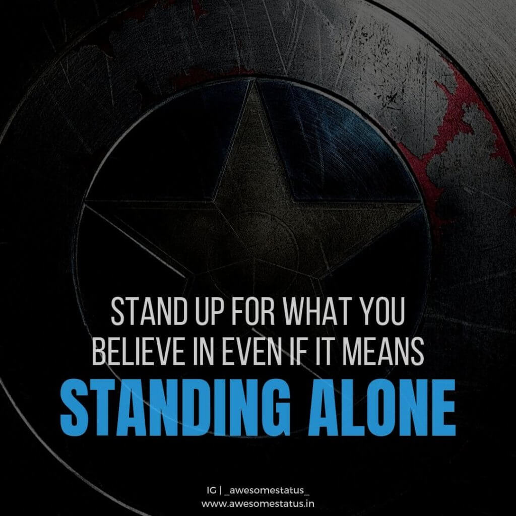 whatsapp dp about captain america