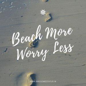 summer beach captions