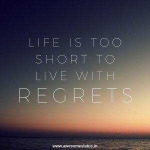 life is short status