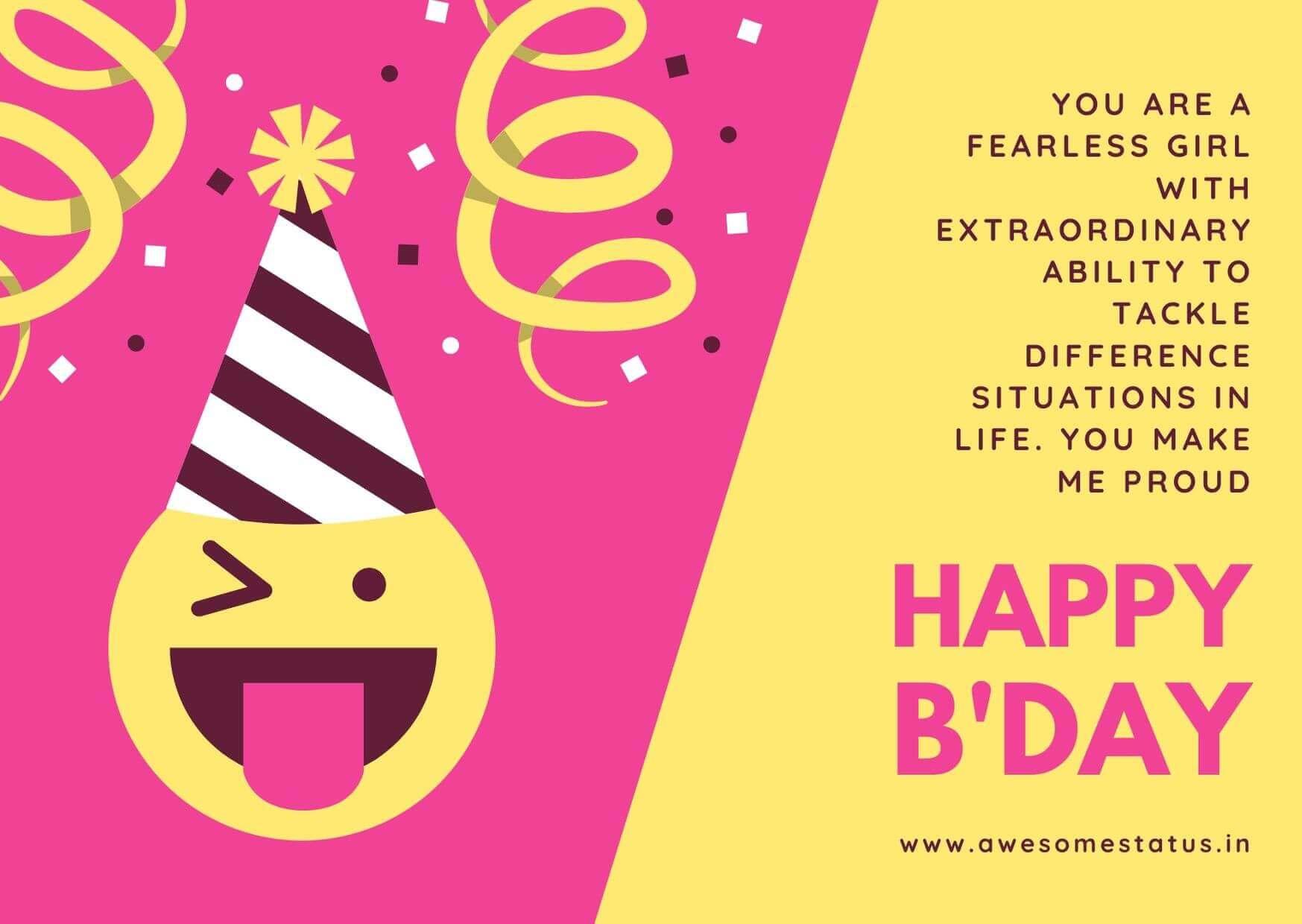 niece birthday wishes