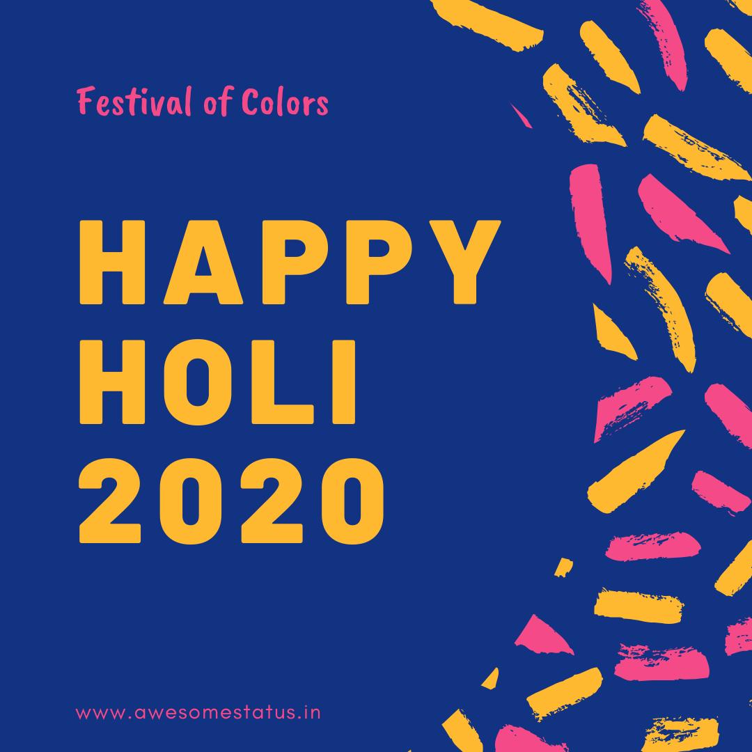 holi festival message