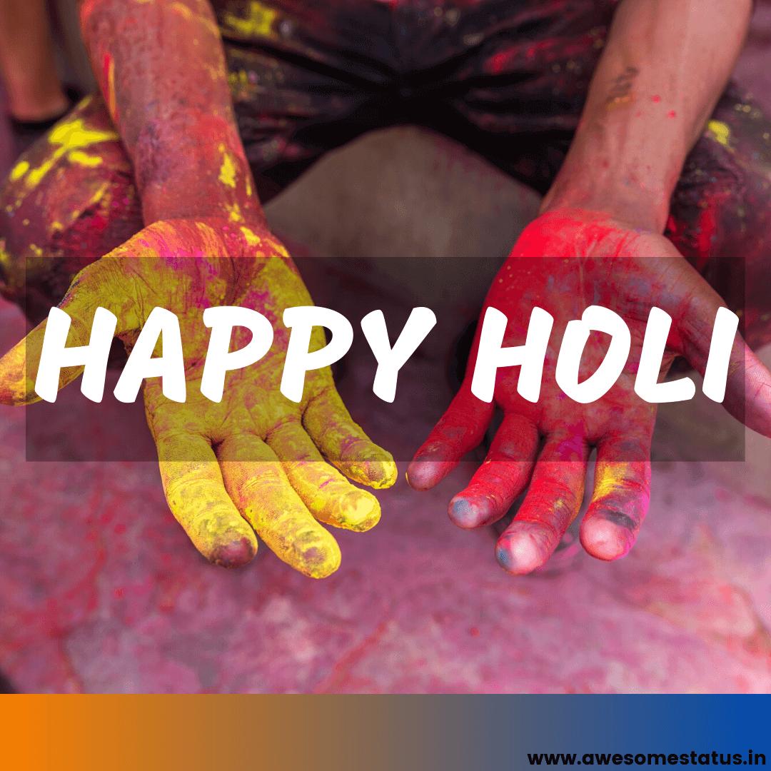 Happy Holi Quote